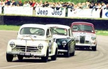 Peugeot 203 leading at Goodwood Park